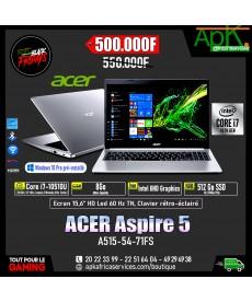 ACER Aspire 5 A515-54-71FS-Intel Core i7-10510U 8 Go SSD 512 Go 15.6