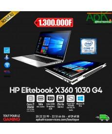"HP EliteBook x360 1030 G4  Intel Core i7-8565U-16 Go DDR4-SSD 256 Go 13.3"" LED Full HD Tactile-Win10 Pro 64 bits"