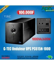 G-TEC ONDULEUR UPS PC615N-1000-600W-1000VA