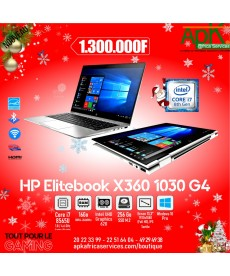 "HP EliteBook x360 1030 G4 -Intel Core i7-8565U- RAM 16 Go LPDDR3-SSD 512 Go-13.3"" LED Full HD Tactile-Win10 Pro"