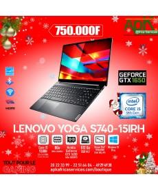 """Lenovo Yoga S740-15IRH-Core I5-8 Go DDR4-512 Go SSD-15.6""""  Full HD -Nvidia GeForce GTX 1650 de 4Go-Win10 Pro"""