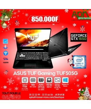 "ASUS TUF GAMING TUF505G- Core i7-9750H-16 Go DDR4- SSD 512 Go-15.6"" LED Full HD-NVIDIA GeForce GTX 1650 4 Go"
