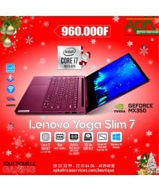 "Lenovo Yoga Slim 7-Core I7-8 Go DDR4-512 Go SSD-14""  Full HD -Nvidia GeForce MX350 de 2Go GDDR5-Win10 Pro"