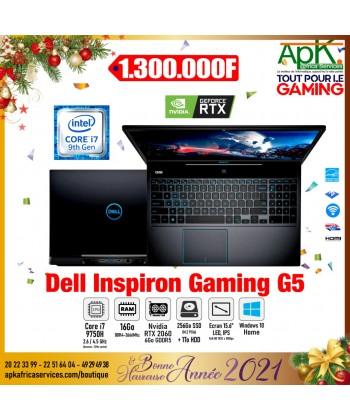 """Dell inspiron G5-Core I7 9750H -16 Go DDR4- 256 SSD+1To HDD-NVIDIA RTX 2060 de 6Go -Ecran 15.6"""" Full HD- Win10"""