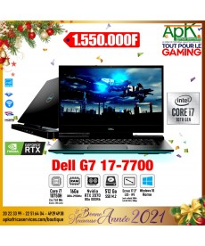 "Dell G7 17-7700-Intel Core i7-10750H-RAM16 Go-SSD 512 Go-17.3"" LED Full HD 1- NVIDIA GeForce RTX 2070 8 Go-Win10"