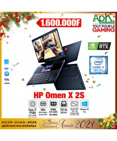 """OMEN X 2S-INTEL CORE I7-9750H-RAM 16 GO-SSD 512 GO-15.6"""" LED IPS- NVIDIA RTX 2070 avec Max-Q 8 Go- WIN 10 Pro"""