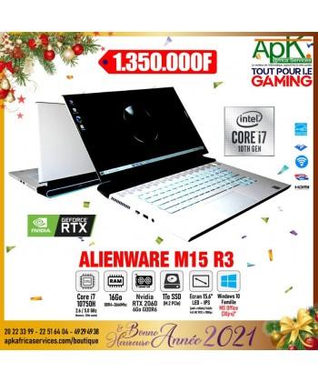 """DELL Alienware m15(R3)-Intel Core i7-10750H-16 Go DDR4 -1To  SSD(M.2)-15.6""""-NVIDIA GeForce RTX 2060 6 Go-Win 10"""