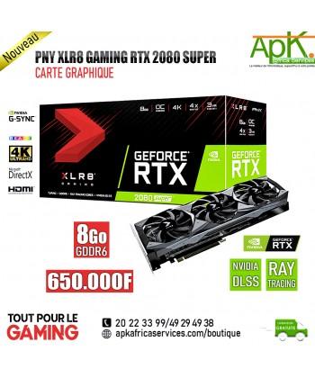 PNY XLR8 Gaming RTX 2080 SUPER 8 Go-Carte graphique  GDDR6