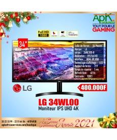 LG 34WL500- MONITEUR IPS UHD 4K- 34''