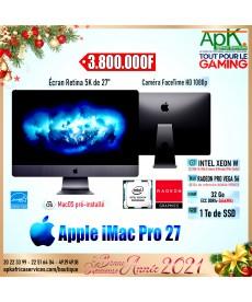 """Apple iMac Pro 27"""" Retina 5K- Intel Xeon W- 32 Go RAM ECC DDR4-1To SDD-rRadeon  Pro Vega 56"""