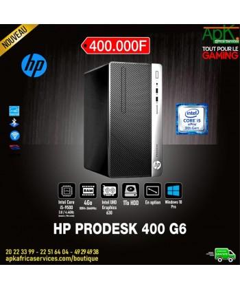 HP ProDesk 400 G6 Micro - Intel Core i5-9500-8 Go Ram- SSD 1 To- Intel UHD graphics - Graveur DVD Win10 Pro-(écran en option)