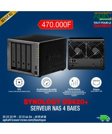 Synology DiskStation DS420+ Serveur NAS 4 baies -