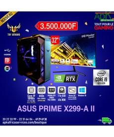 ASUS PRIME X299-A II-Intel Core i9 10900X-64 Go RAM DDR4- 1To SSD + 4To HDD - NVIDIA RTX 2080Ti 11Go GDDR6-Win10