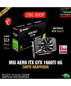 MSI AERO ITX GTX 1660 TI 6Go GDDR6- Carte graphique