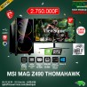 MSI MAG Z490 TOMAHAWK Intel Core i7-10700K - 64 Go RAM DDR4- 512 Go Go SSD + 2To HDD - NVIDIA RTX 2080 11Go GDDR6