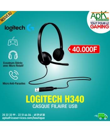 CASQUE FILAIRE Logitech USB H340