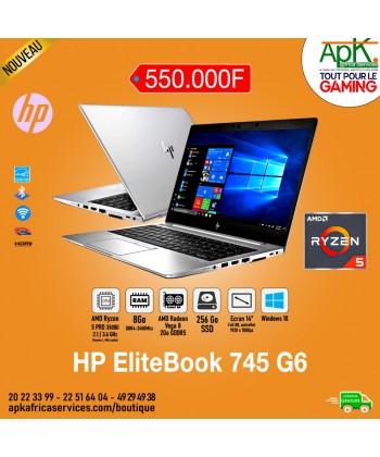 "HP EliteBook 745 G6 - Ryzen 5 Pro 3500U - 8 Go RAM - 256 Go SSD - 14"" - 2Go Radeon Vega 8 -Win 10 Pro"