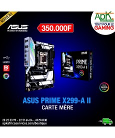 ASUS PRIME X299-A II Carte mère ATX Socket 2066 Intel X299 Express - 8x DDR4 - SATA 6Gb/s + M.2 - USB 3.1