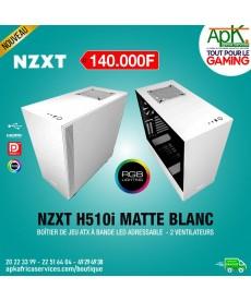 NZXT H510i Matte Blanc - Boîtier à Bande Led adressable - 2 Ventilateurs