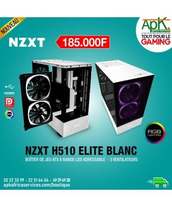 NZXT H510i Elite Blanc - Boîtier à Bande Led adressable - 3 Ventilateurs