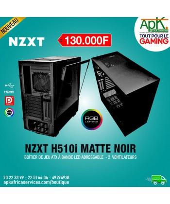NZXT H510i Matte Noir - Boîtier à Bande Led adressable - 2 Ventilateurs