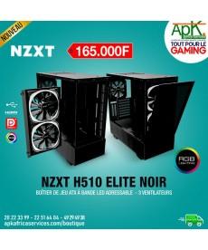 NZXT H510 Elite NOIR - Boîtier à Bande Led adressable - 3 Ventilateurs