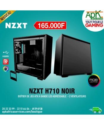 NZXT H710 Noir Boîtier à Bande Led adressable - 2 Ventilateurs