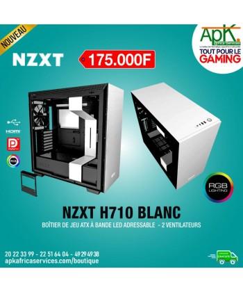 NZXT H710 Blanc - Boîtier à Bande Led adressable - 2 Ventilateurs