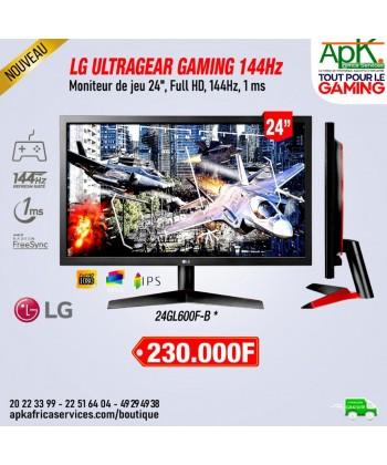 """LG 23.8"""" LED - UltraGear 24GN600-B 1920 x 1080 pixels - 1 ms (gris à gris) - 16/9 - Dalle IPS - FreeSync Premium - 144 Hz"""