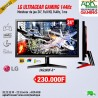 "LG 23.8"" LED - UltraGear 24GN600-B 1920 x 1080 pixels - 1 ms (gris à gris) - 16/9 - Dalle IPS - FreeSync Premium - 144 Hz"
