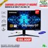 """Samsung 27""""  Odyssey G7 - 2560 x 1440 pixels - 1 ms (gris à gris) - Dalle VA incurvée - 240 Hz - HDR600"""
