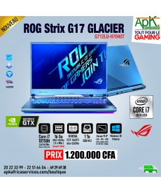 "ASUS ROG STRIX G17 GLACIER - Core i7-10750H - 16 Go RAM - SSD 1 To - 17.3"" LED Full HD - NVIDIA GTX 1660 Ti 6 Go - Win10"