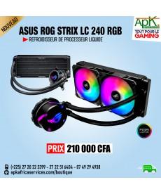 ASUS ROG Strix LC240 RGB- Refroidissement liquide-240 mm pour processeur avec éclairage ARGB Aura Sync