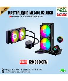 MasterLiquid ML240L V2 RGB - Refroidisseur liquide tout-en-un pour processeur