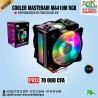 Cooler Master MasterAir MA410M Ventilateur LEDs RGB- Refroidisseur processeur Air