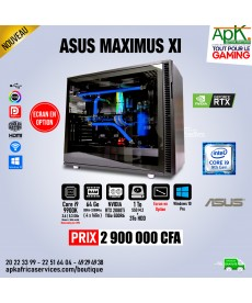 ASUS MAXIMUS XI - Core i9 9900K - 64 Go Ram DDR4 - 1To SSD+ 3To HDD -11Go NVIDIA RTX 2080Ti GDDR6 - Win10 Pro