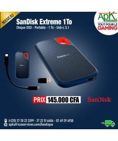 SanDisk Extreme Portable SSD 1 To Disque SSD portable USB 3.1 compatible Windows et MacOS X 10.4 et ultérieurs