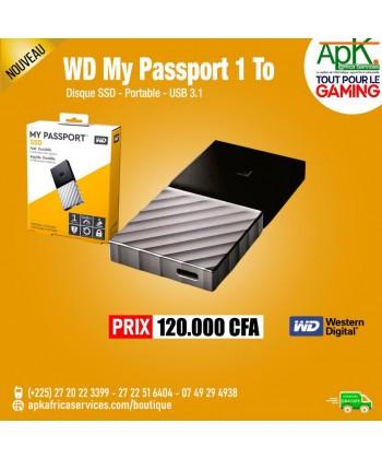 WD My Passport SSD 1 To (USB 3.1) DISQUE SSD EXTERNE USB 3.1 PORTABLE 1 TO AVEC CRYPTAGE DES DONNÉES (AES 256 BITS)