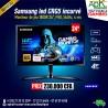 "SAMSUNG LED CRG5 INCURVE 24 ""-1920 x 1080 pixels - Dalle VA incurvée - FreeSync - 144 Hz - HDMI - DisplayPort - Noir"