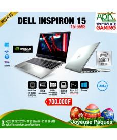 "Dell Inspiron 15-5593 - INTEL CORE I7-1065G7 8 GO - SSD 512 GO 15.6"" LED FULL HD NVIDIA GEFORCE MX230 WI-FI AC/BLUETOOTH WEBCAM"