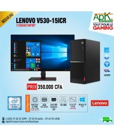 Lenovo V530-15ICR-INTEL CORE I3-9100- 4 GO- HDD 1TO- GRAVEUR DVD-WI 10 PRO