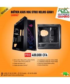 ASUS ROG Strix Helios - Boîtier PC Gaming RGB Moyen Tour avec fenêtre en verre trempé et châssis aluminium