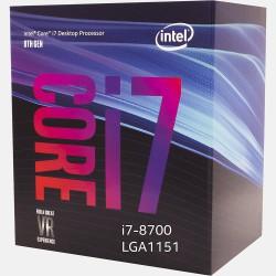 Processeur Intel Core i7-8700 (3.2 GHz - 4.6 GHz)